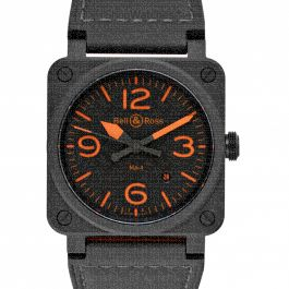 Bell & Ross Instruments BR0392-KAO-CE/SCA