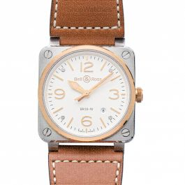 Bell & Ross Instruments BR0392-ST-PG/SCA