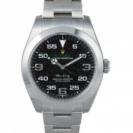 Rolex Air King 116900 Black