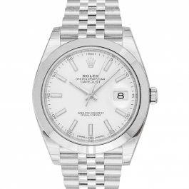 Rolex Datejust 126300 White Jubilee