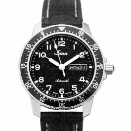 SINN Instrument Watches 104.011-Leather-Cowhide-BK
