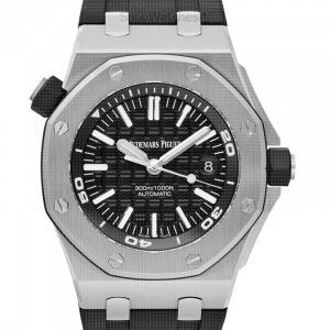 Royal Oak Offshore Black Dial Men's Watch