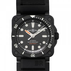 Instruments BR 03-92 Diver Black Matte Men's Watch