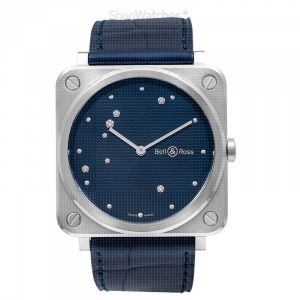 Instruments BR S Blue Diamond Eagle Ladies Watch