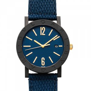 BVLGARI Automatic Blue Dial Men's Watch