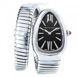 Serpenti Tubogas Quartz Black Opaline Dial Ladies Watch