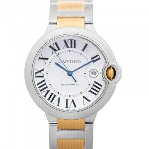 Ballon Bleu de Cartier 42 mm Automatic Silver Dial Stainless Steel Men's Watch