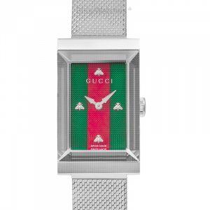 G-Frame watch 21x34mm Quartz Green Dial Ladies Watch