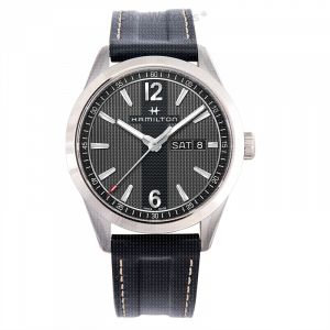 Broadway Quartz Grey Dial Stainless steel Men's Watch