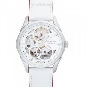 Jazzmaster Automatic Skeleton Dial Stainless Steel Unisex Watch