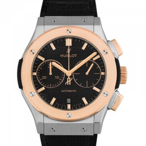 Classic Fusion Chronograph Titanium King Gold Automatic Black Dial Men's Watch