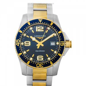 HydroConquest Quartz Blue Dial Men's Watch