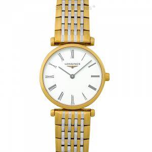 La Grande Classique de Longines Quartz White Dial Ladies Watch