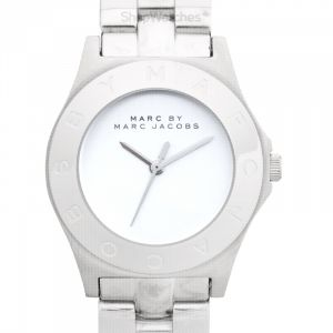 Blade White Dial Sliver Stainless Steel Ladies Watch 37mm