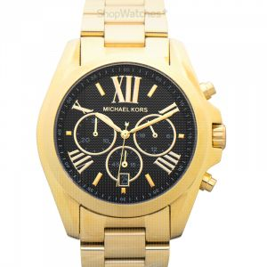Bradshaw Chronograph Quartz Black Dial Ladies Watch