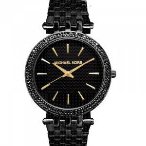 Darci Black Stainless-Steel Quartz Fashion Watch