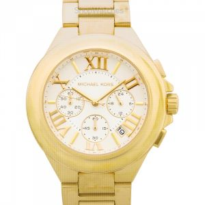 Camille Chronograph Gold-Tone Ladies Watch 43 mm