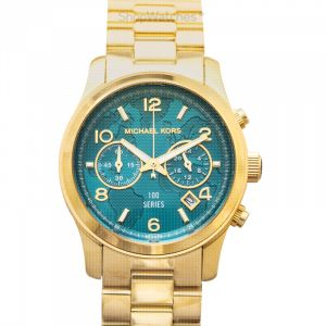 Watch Hunger Stop Chronograph Gold-Tone Stainless Steel Watch