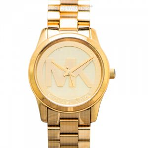 Parker Champagne Dial Gold-tone Watch