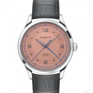 Heritage GMT Automatic Salmon-coloured Dial Men's Watch