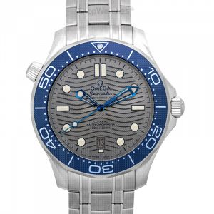 Seamaster Diver 300 M Co-Axial Master Chronometer 42 mm Automatic Grey Dial Steel Men's Watch