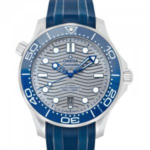 Seamaster Diver 300 M Co-Axial Master Chronometer 42 mm Automatic Grey Dial Stainless Steel Men's Watch