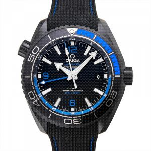 Seamaster Planet Ocean 600M Co-axial Master Chronometer GMT 45.5 mm Automatic Black Dial Ceramic Men's Watch