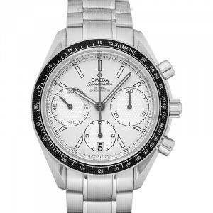 Speedmaster Racing Co-Axial Chronograph 40 mm Automatic Silver Dial Stainless Steel Men's Watch