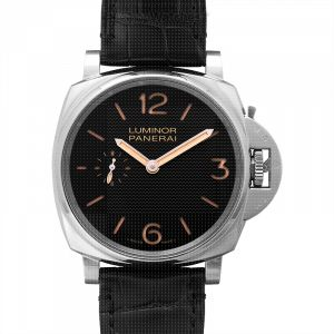 Luminor Due Manual-winding Black Dial 42 mm Men's Watch
