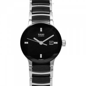 Centrix Automatic Black Dial Ladies Watch