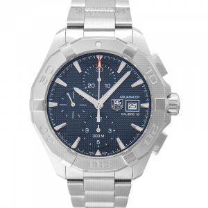Aquaracer Chronograph Calibre 16 Automatic Blue Dial Men's Watch