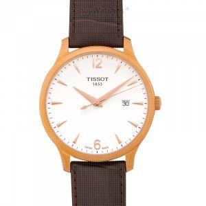 T-Classic Tradition Quartz Silver Dial Men's Watch