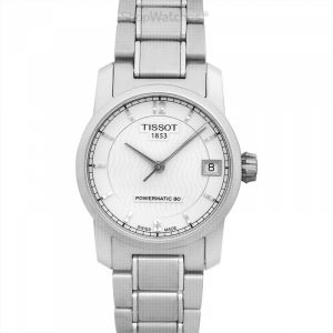 T-Classic Automatic Silver Dial Women's Watch
