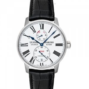 Marine Torpilleur Stainless Steel Automatic White Dial Men's Watch