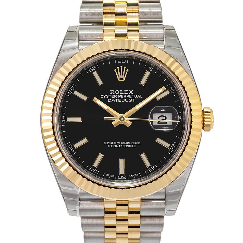 Rolex Datejust 126333 Black Jubilee
