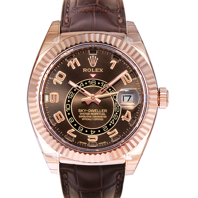 Rolex Sky Dweller 326135 Everose Gold