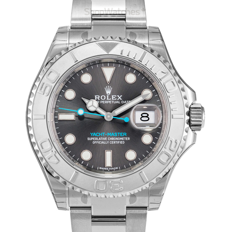 Rolex Yacht Master 116622 dark grey