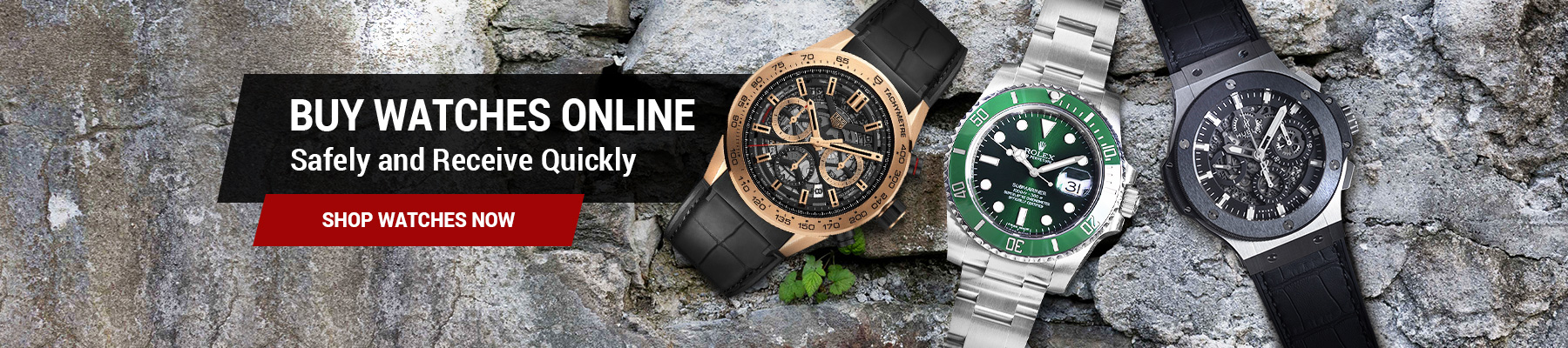 buy watches online safely and receive quickly